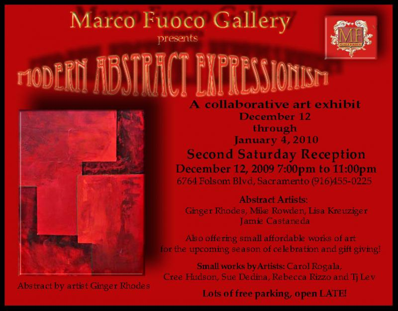 Marco Fuoco gallery post card