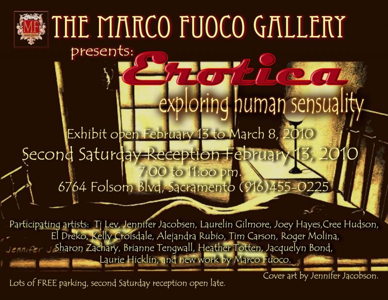 February show Marco Fuoco Gallery
