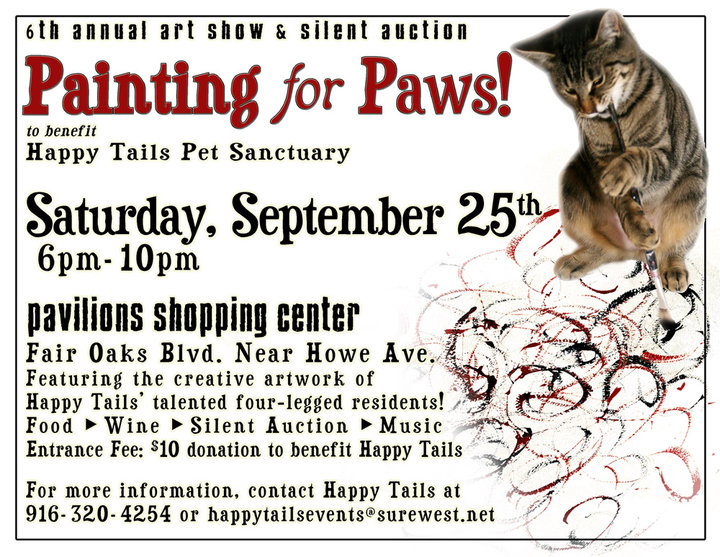Painting for Paws art event and fund raiser
