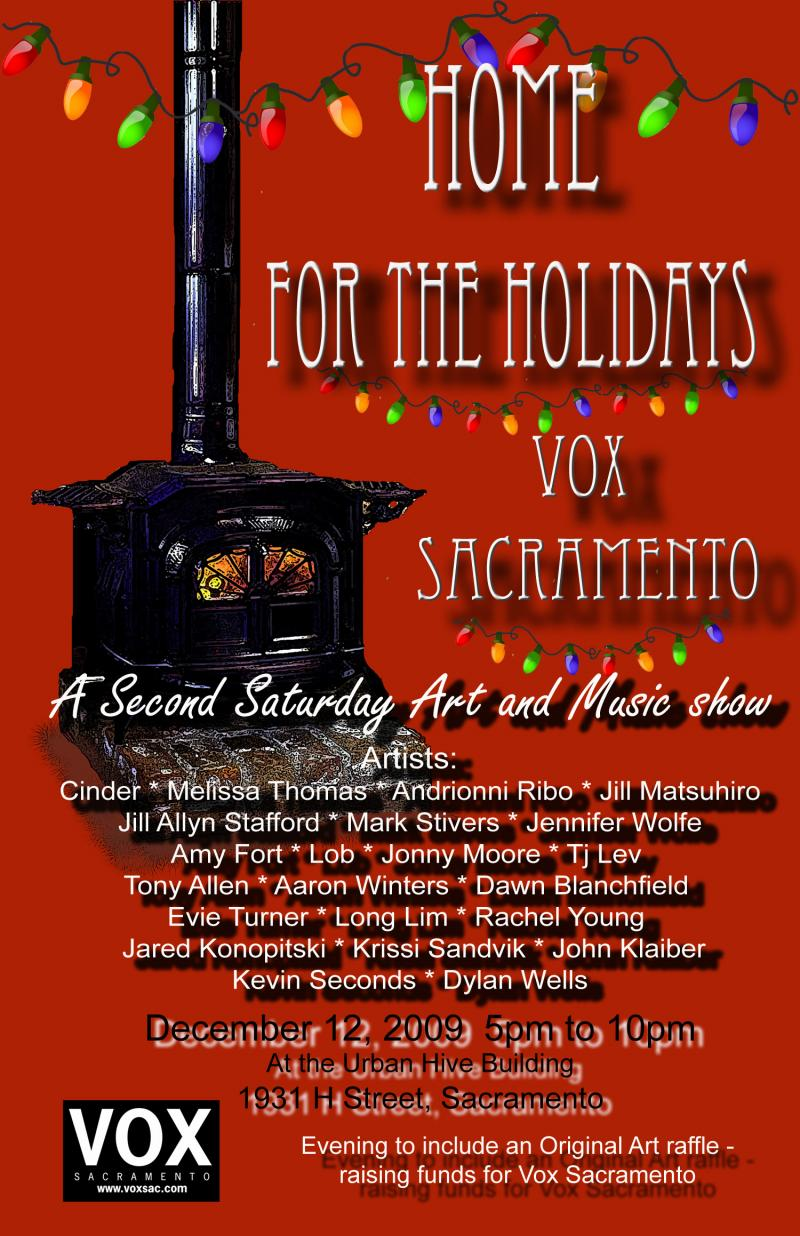 Vox Home for the Holidays flyer